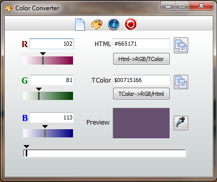 Color Converert